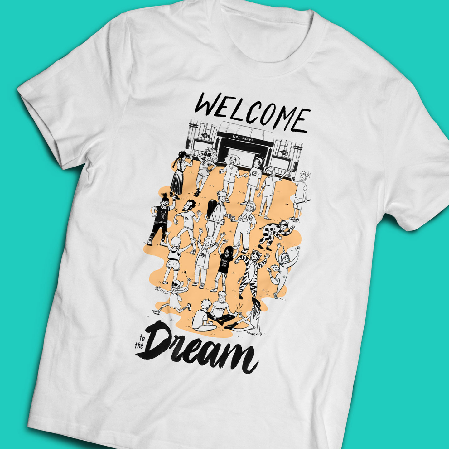 Welcome to the Dream t-shirt