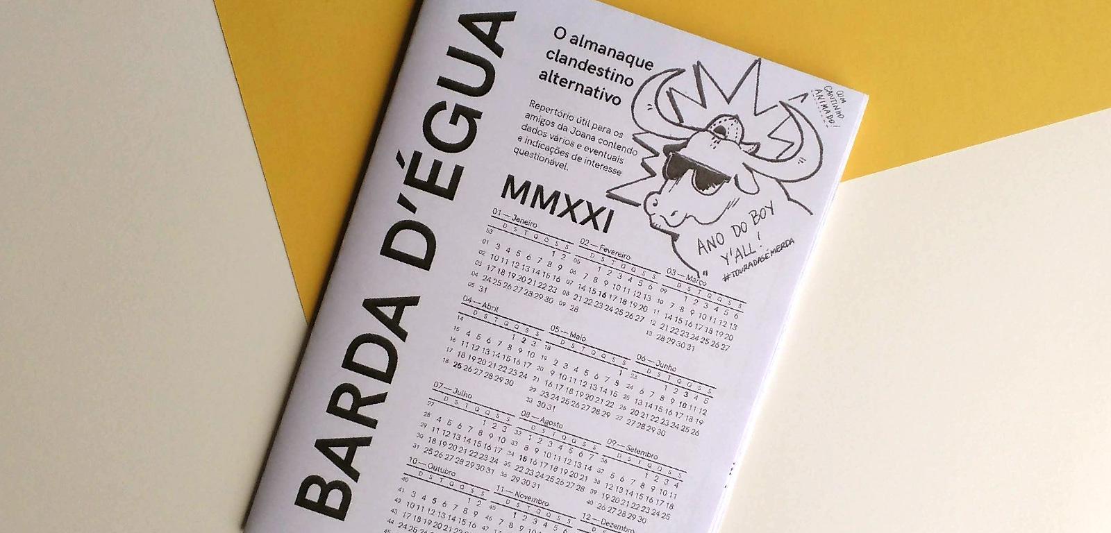 Barda d'Égua MMXXI - alternative clandestine almanac